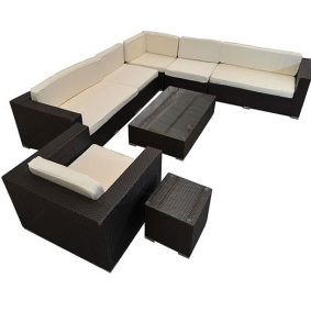 8 Seater Outdoor Rattan Furniture Set