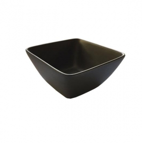 Square Tasting Bowl Matt Black
