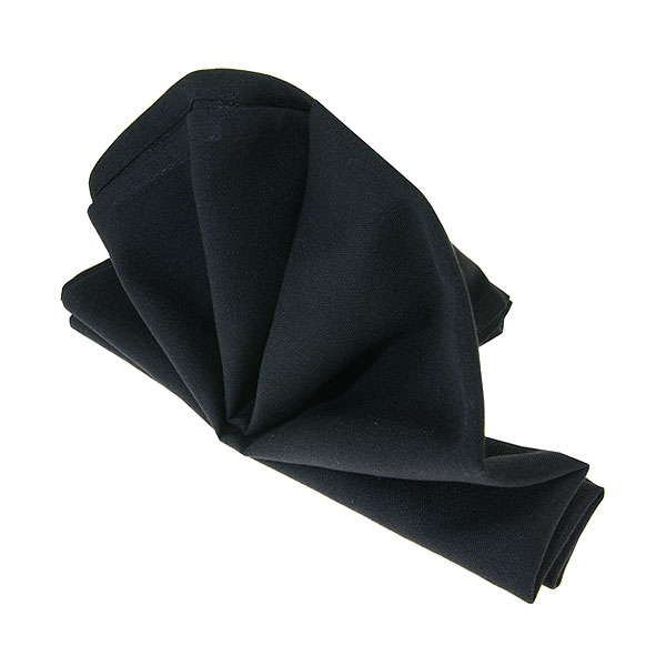 Black Fabric Napkin