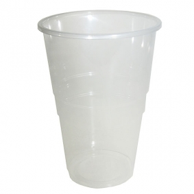 Disposable Pint To Brim Flexy Glass