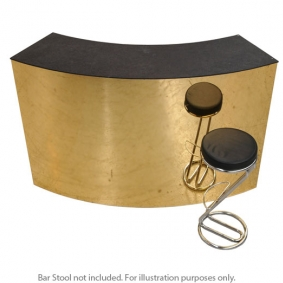 Curved Starlight Gold Bar Unit