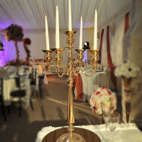 Small Gold Candelabra