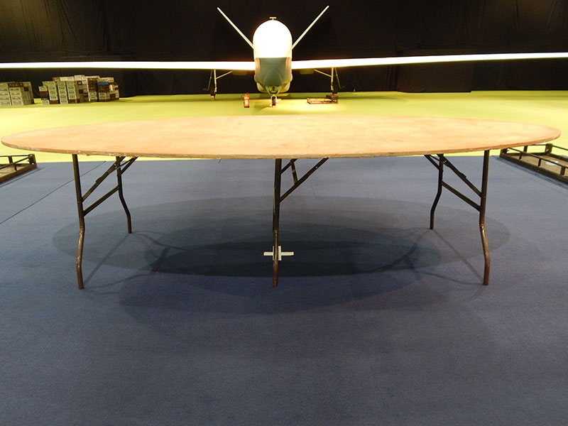 8ft Oval Table Hire