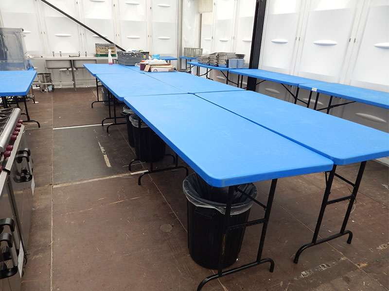 Catering Table Hire