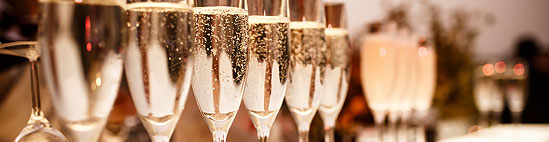 Champagne Flutes Hire from Event Hire UK
