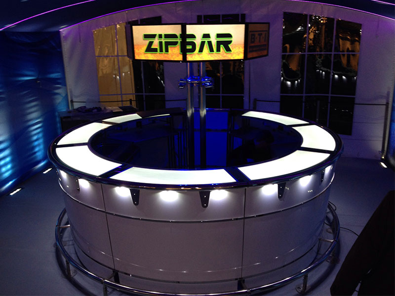 Zip Bar Hire from Event Hire UK
