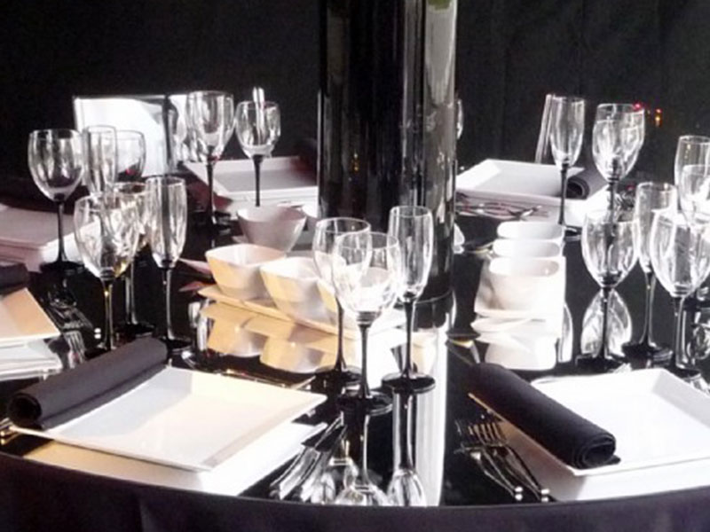 Domino Stemware Glass Hire from Event Hire UK