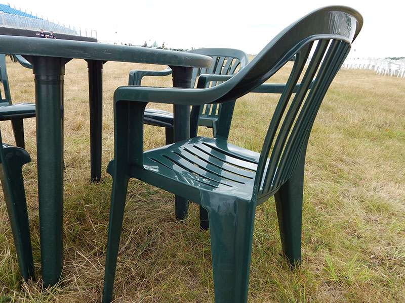 Green Patio Chairs For Hire