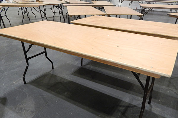 Hire 6ft Trestle Tables from Event Hire UK