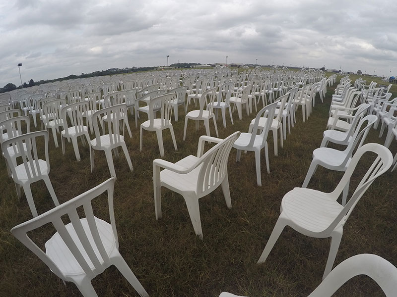 Hire White Bistro Chairs