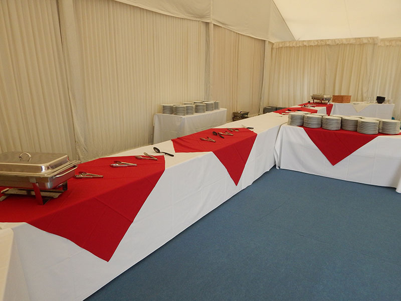 Rectangle Trestle Tables Hire