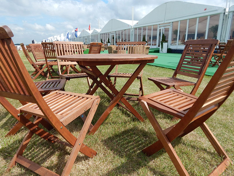 Wooden Patio Furniture Hire