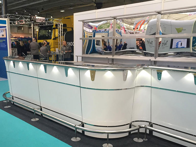 Hire Zip Bars For Exhibitions from Event Hire UK