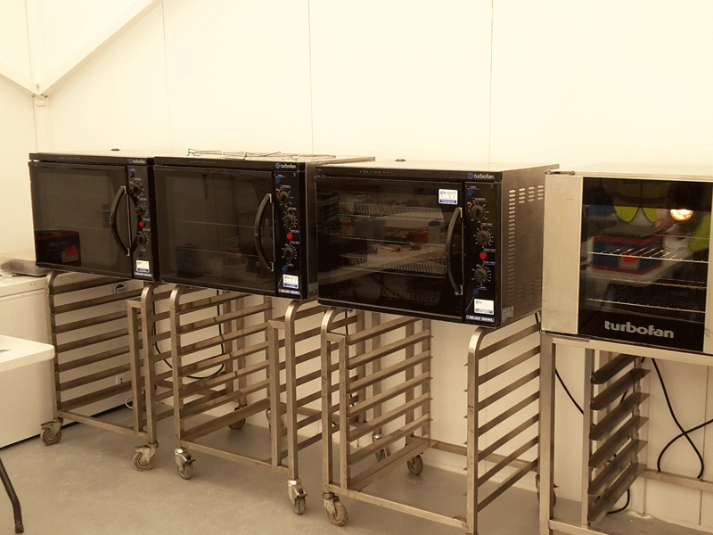 Electric Turbofan Ovens Hire