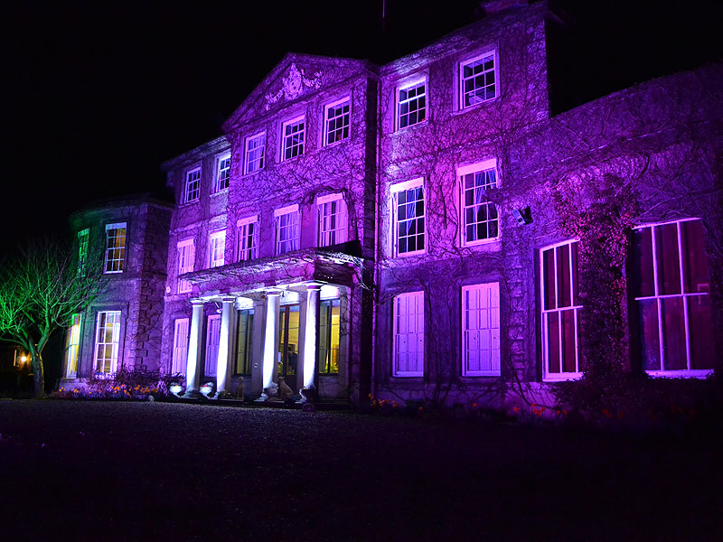 Exterior Venue Illumination Hire