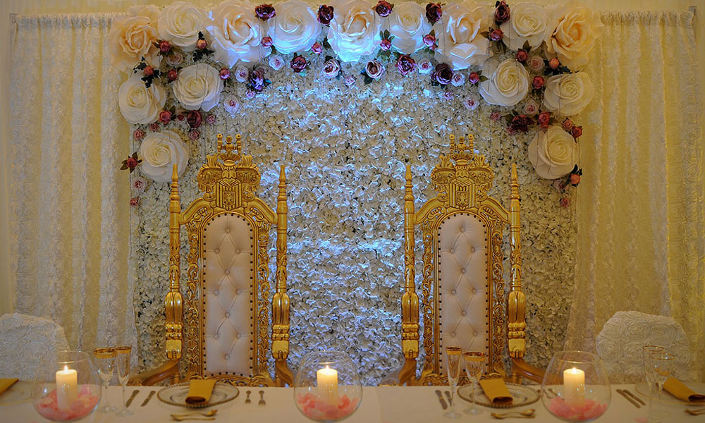 Gold Throne Hire London