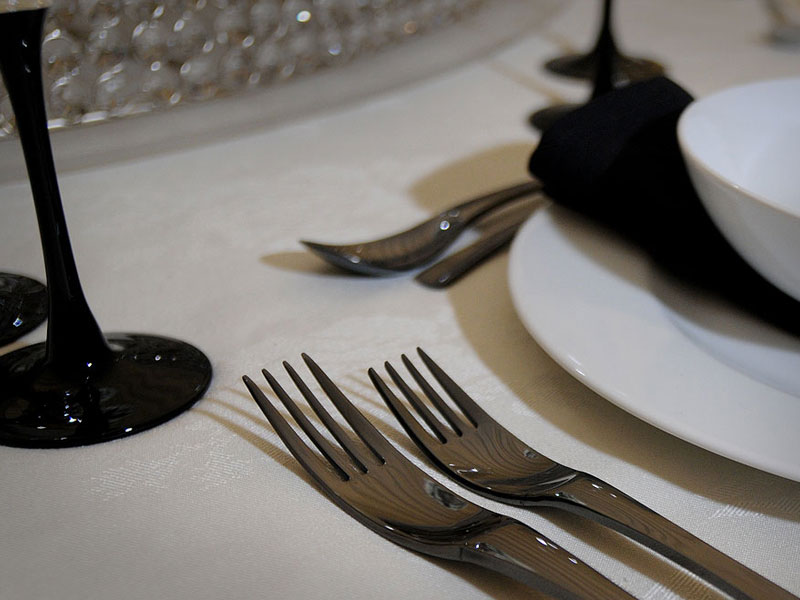 Hire Black Cutlery London