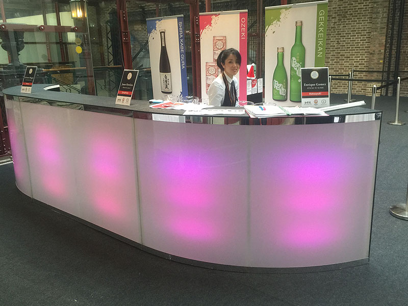 LED Bar Hire For Temporary Events