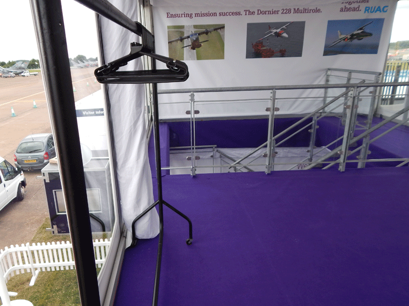 Temporary Event Coat Rail Hire