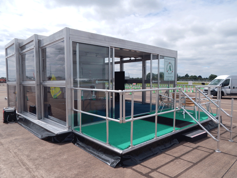 Temporary Event Exhibition Trailer Hire