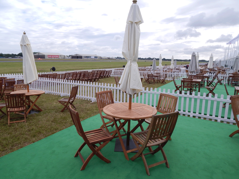 Temporary Event Outdoor Patio Furniture Hire