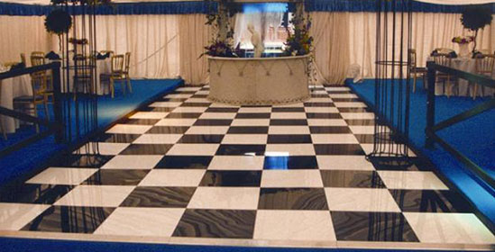 Dance Floor Hire from Event Hire UK