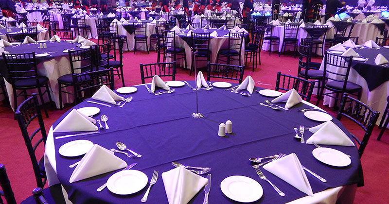 Hire Round Tables from Event Hire UK
