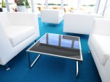 Coloured Glass Coffee Table Hire