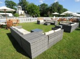 Corner Rattan Furniture Hire For Events