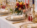 Luxury Gold Table Settings