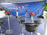 Poseur Table & Stool Hire