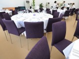 Purple Banqueting Chair Hire