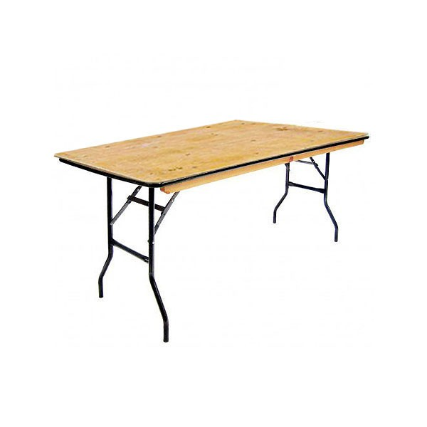 6ft Trestle Table Hire