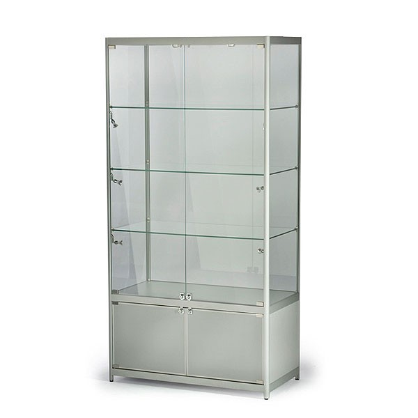 Tall Centre Showcase with Cabinet