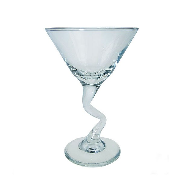 Z Stem Martini Glass