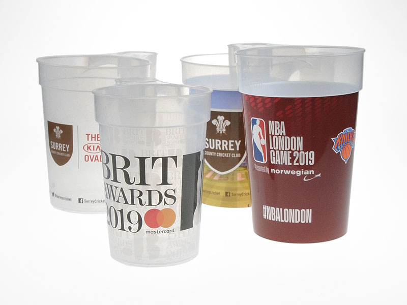 Branded Reusable Plastic Cups