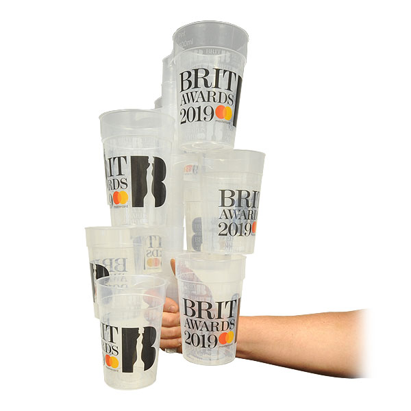 Custom Branded Stacking Plastic Reusable Cups