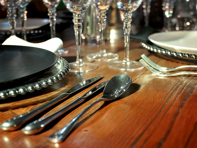 Ellipse Stainless Steel Cutlery Hire