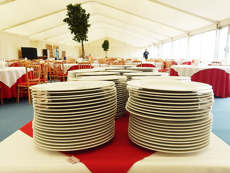 Lubiana Crockery Rental