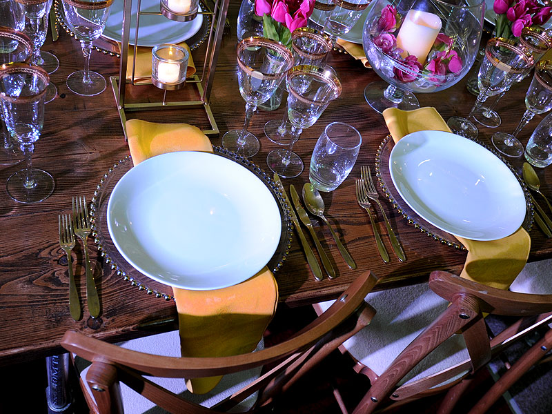 Rent Gold Cutlery For Events