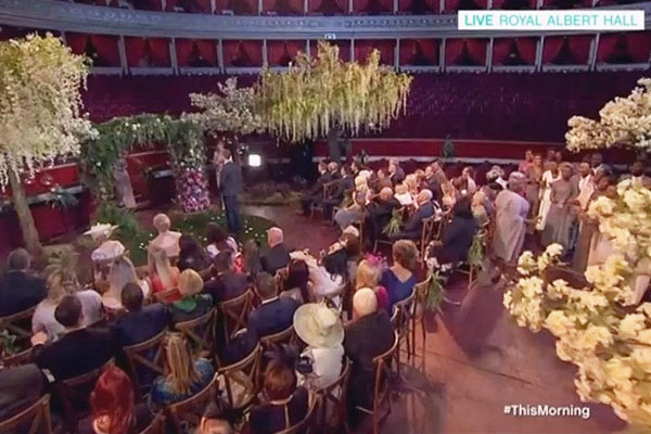Cross back chairs on ITV's 'This Morning' live