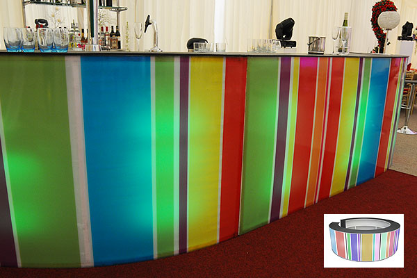 Bespoke design mobile bar hire