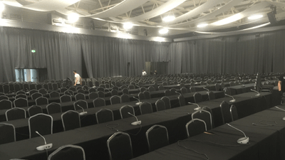 Chair hire for Dublin conference