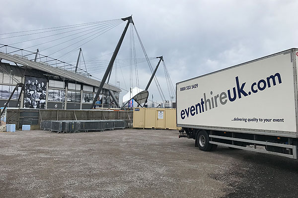 Event Hire UK caters for Champions League hospitality event