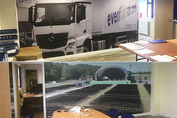 Event Hire London office extension