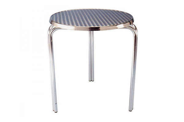 *NEW* Aluminium low cafe stackable tables