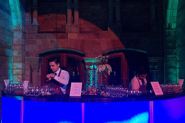 Event Hire temporary LED bar hire at Natural History Museum
