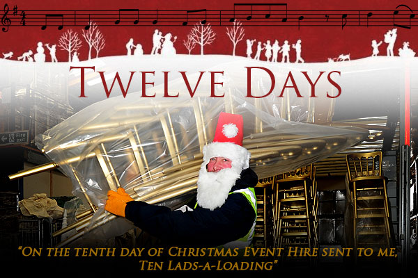On the tenth day of Christmas...
