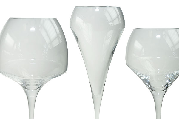 *NEW* Range of 'open-up' glassware for hire