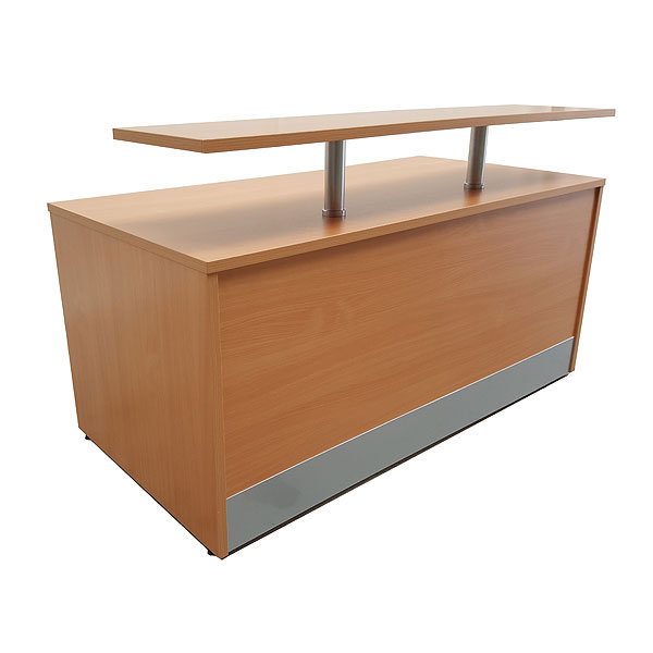 *NEW* Reception desk with front shelf